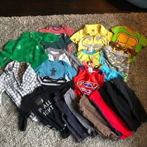 Lot of 6-12 month Boy Clothes